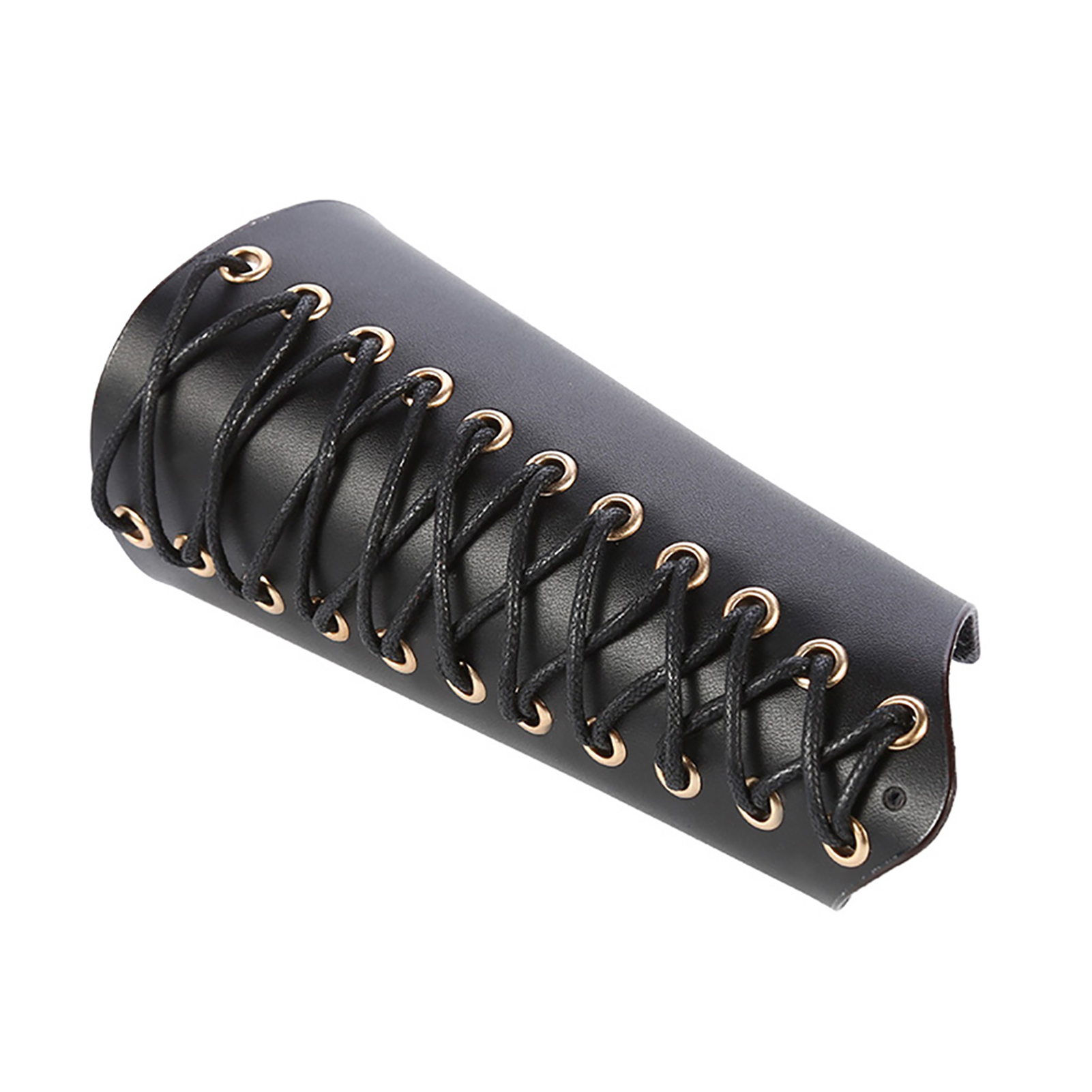 Genuine Leather Archery Arm Guard Traditional Cow Bracer for Longbow Recurve Bow