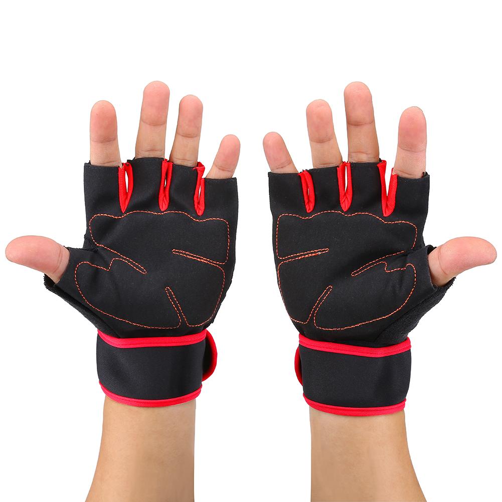 Fitness-Gloves-Weight-Lifting-Gym-Sport-Workout-Training-Wrist-Wrap-fr-Men-Women