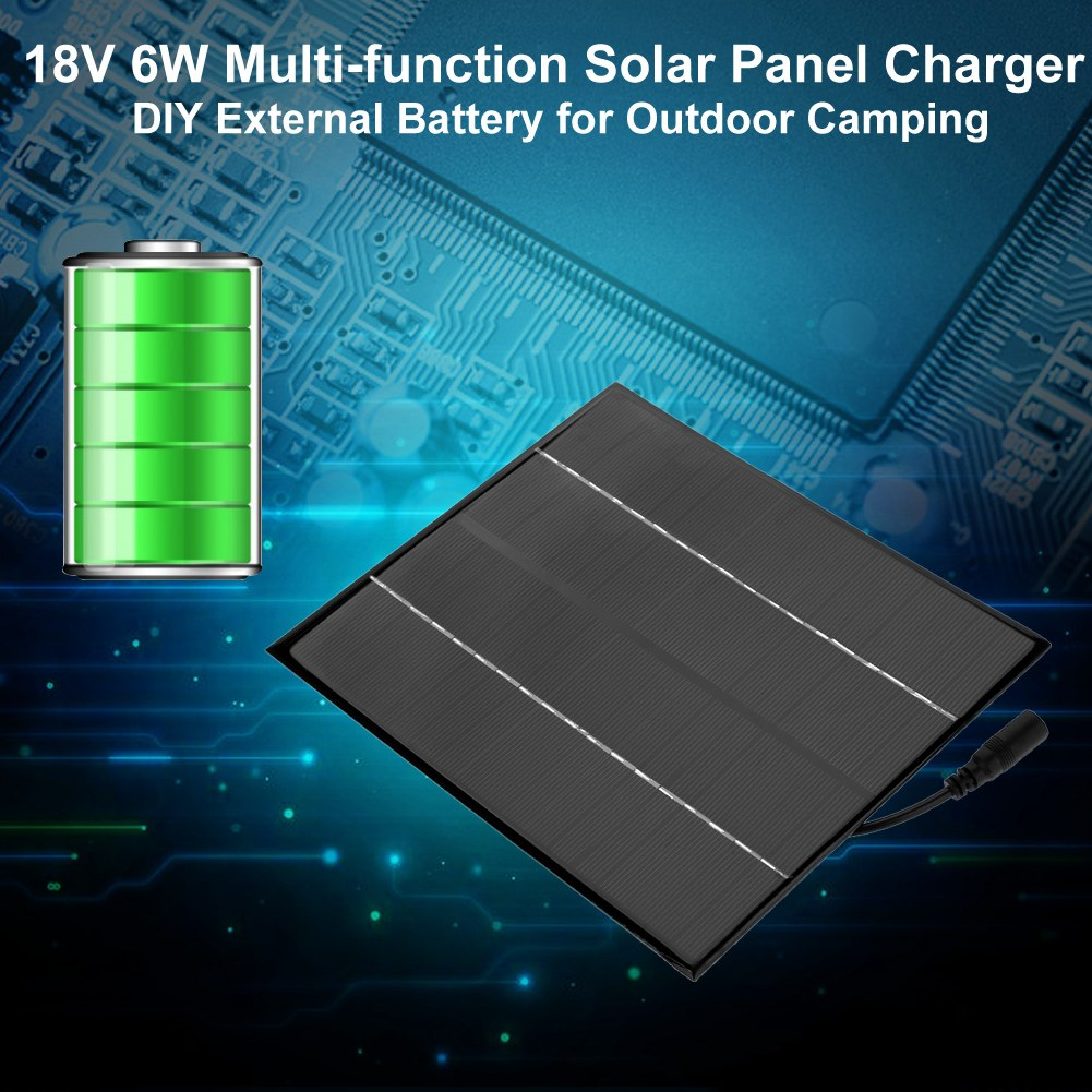 Portable 12v 18v Solar Panel Power Bank Diy Charger External Battery Circuit Diagram Also 500ma Charge