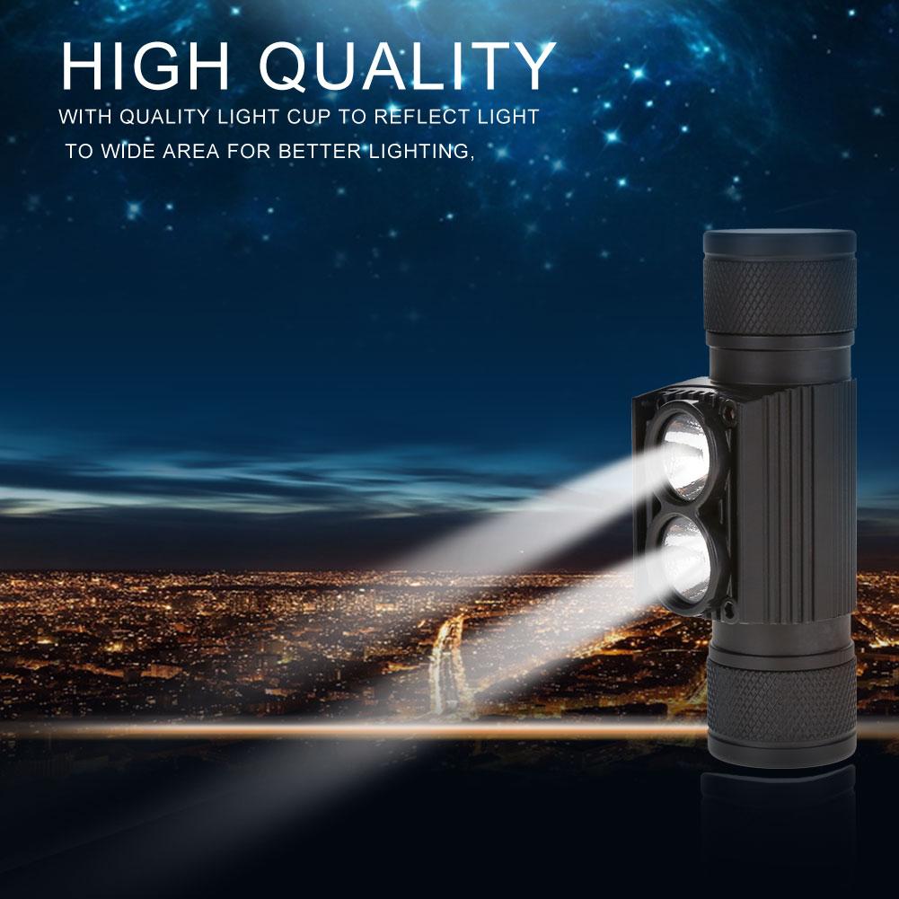 1000LM LED Headlamp USB Rechargeable Head Light Flashlight Torch Lamp Fishing SA