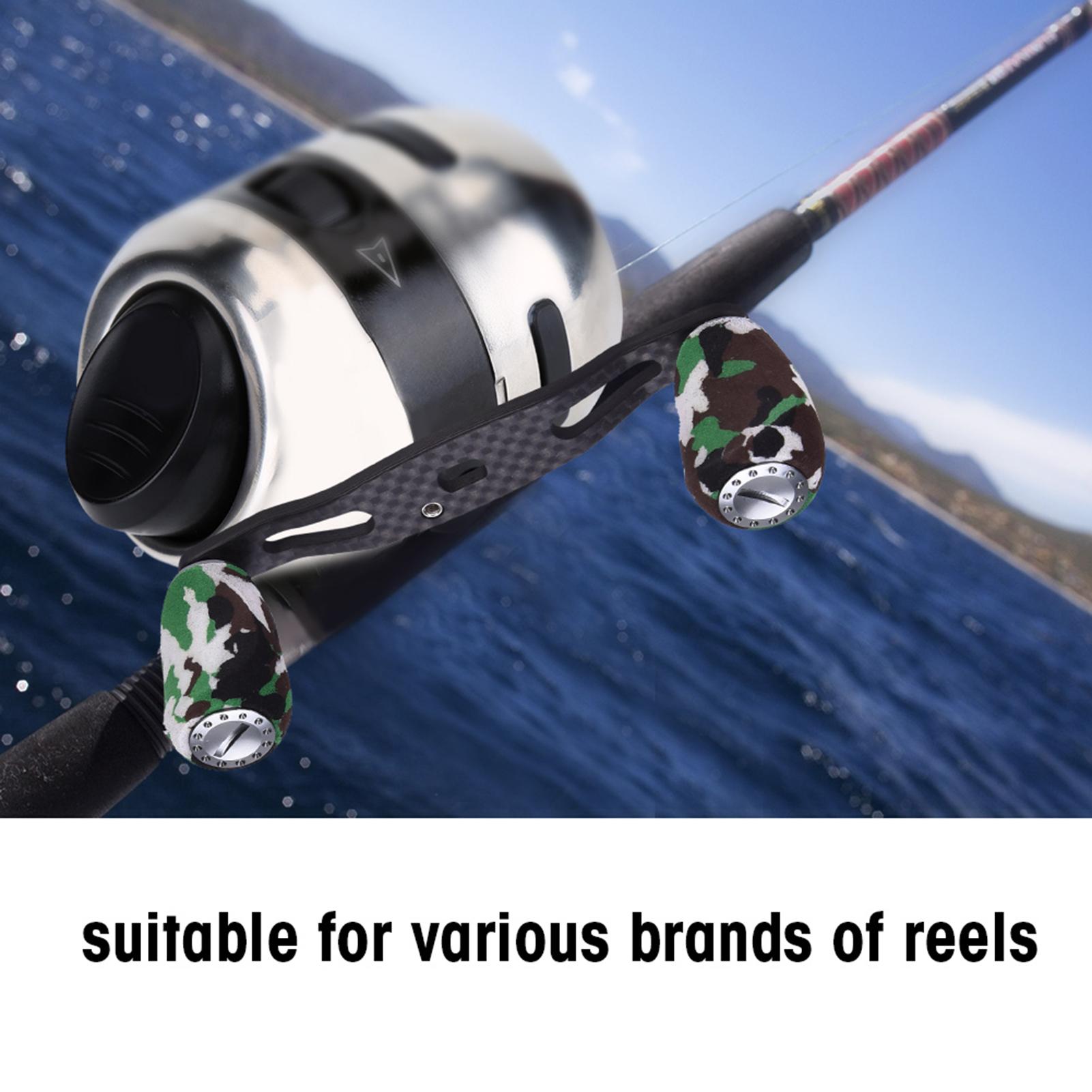 Portable-Carbon-Fiber-Fishing-Reel-Handle-Knob-For-Baitcasting-Fishing-Reel-LJ thumbnail 15