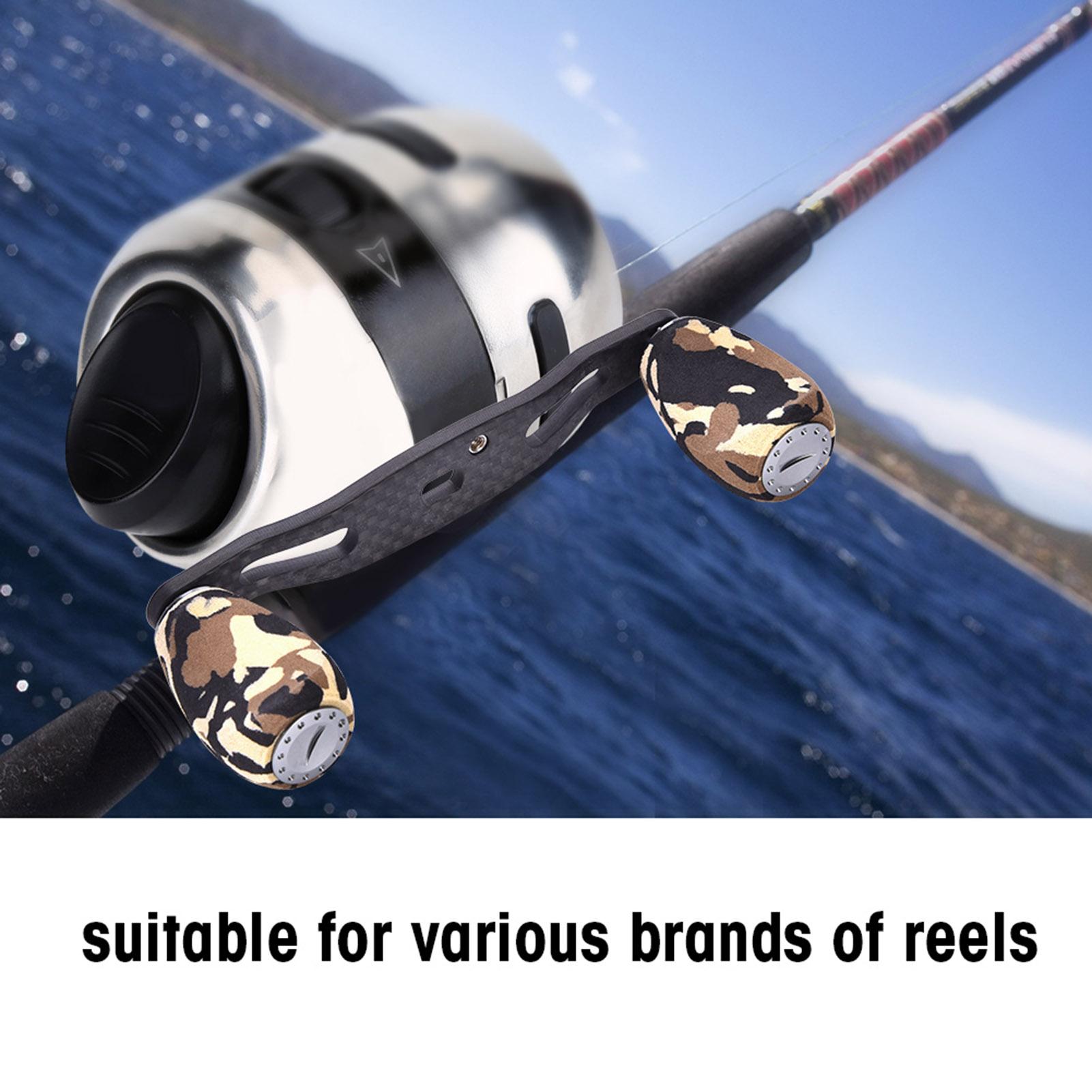 Portable-Carbon-Fiber-Fishing-Reel-Handle-Knob-For-Baitcasting-Fishing-Reel-LJ thumbnail 21