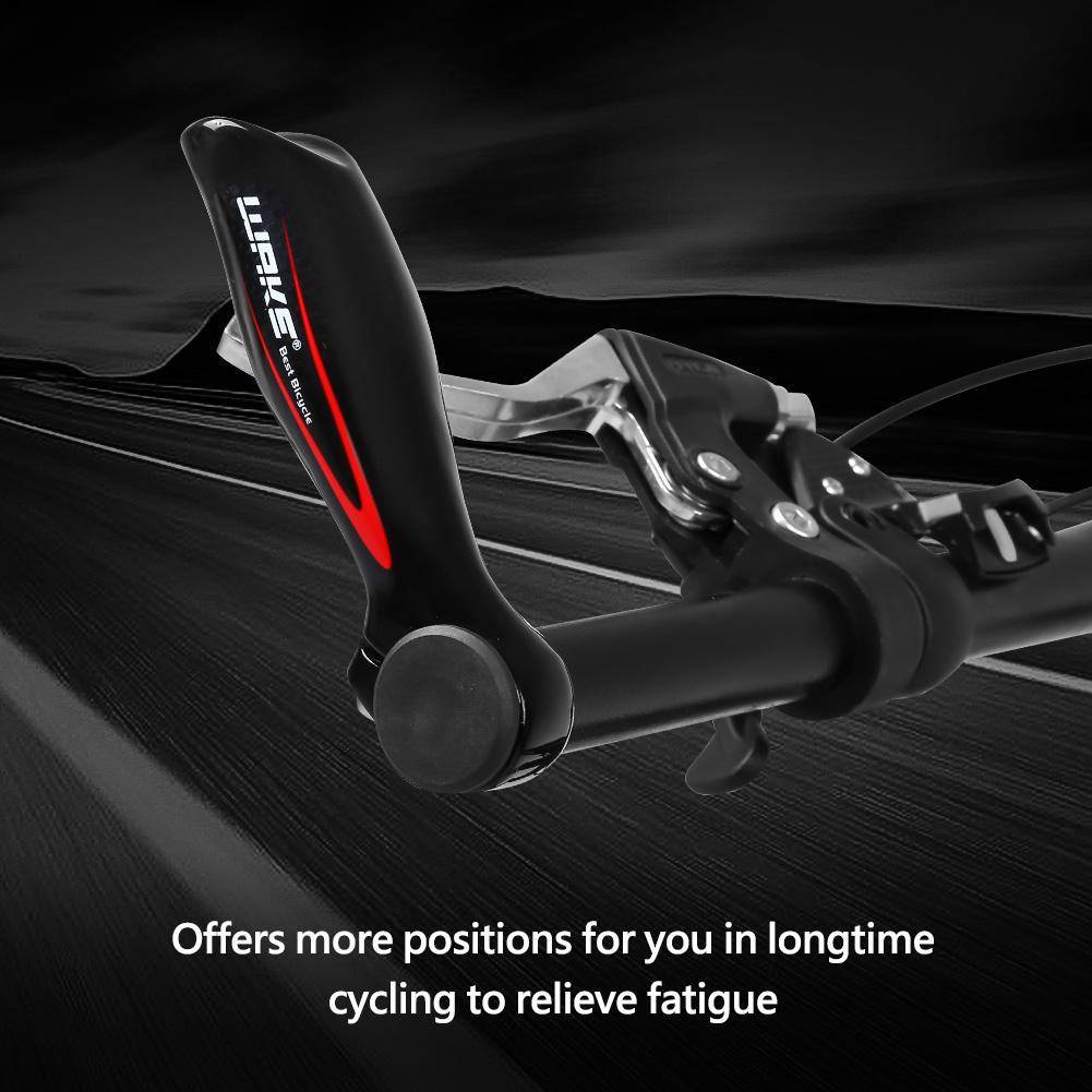 1-paire-en-alliage-d-039-aluminium-Cyclisme-Velo-Montagne-Guidon-Bar-end-Grips-Solo-Air miniature 14