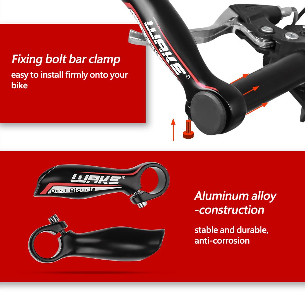 1-paire-en-alliage-d-039-aluminium-Cyclisme-Velo-Montagne-Guidon-Bar-end-Grips-Solo-Air miniature 18