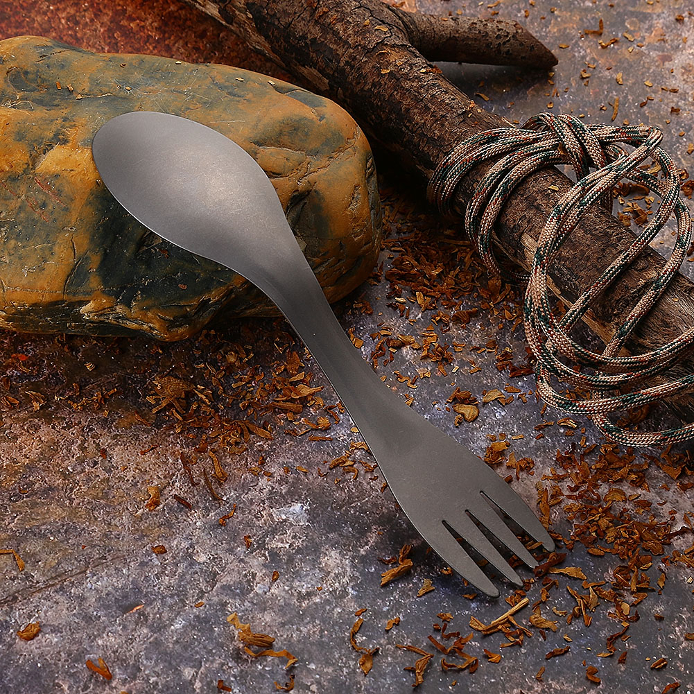 Stainless-Steel-Fork-Spoon-Bottle-Can-Opener-Camping-Utensil-Sawtooth-Cutter-CO thumbnail 18
