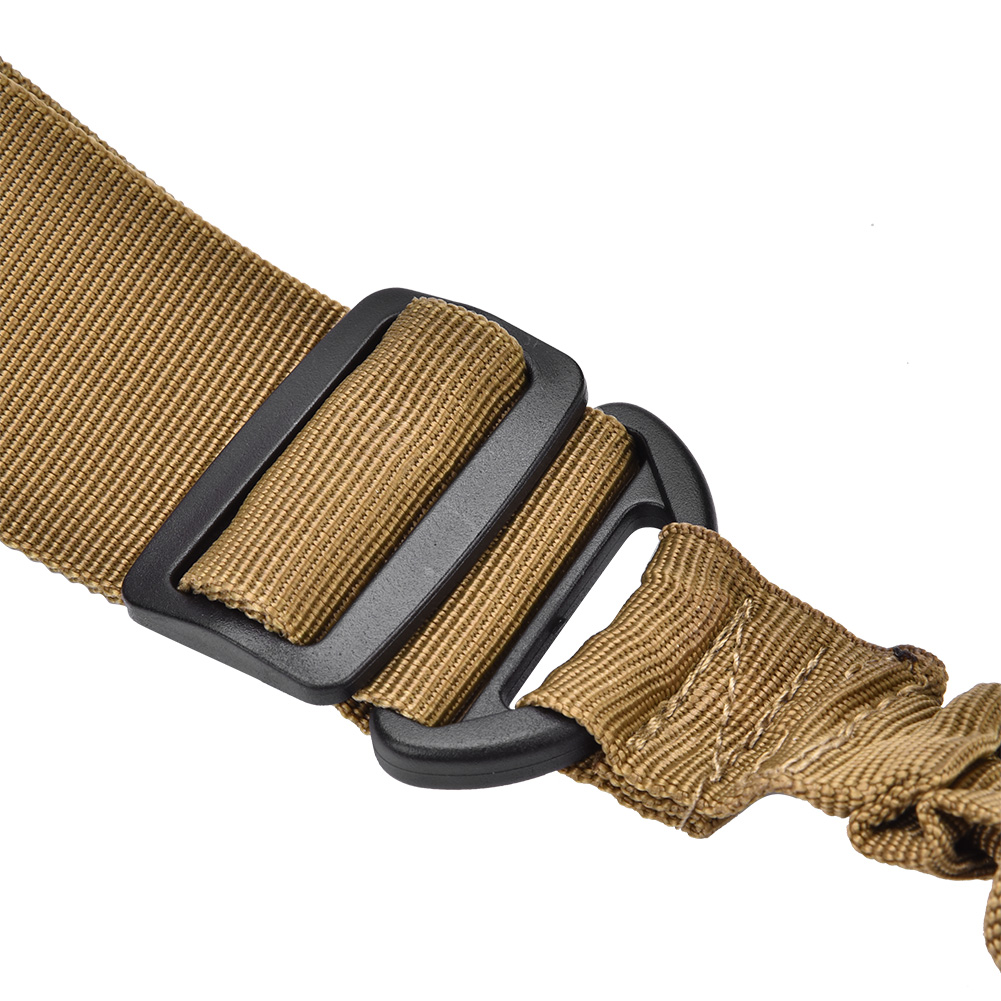 Tactics-1-Point-Single-Bungee-Rifle-Gun-Sling-Strap-Quick-Release-Buckle-JA thumbnail 20