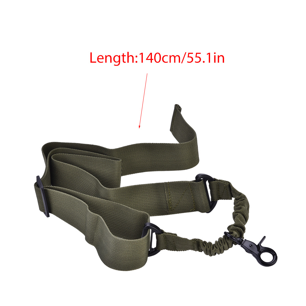 Tactics-1-Point-Single-Bungee-Rifle-Gun-Sling-Strap-Quick-Release-Buckle-JA thumbnail 24