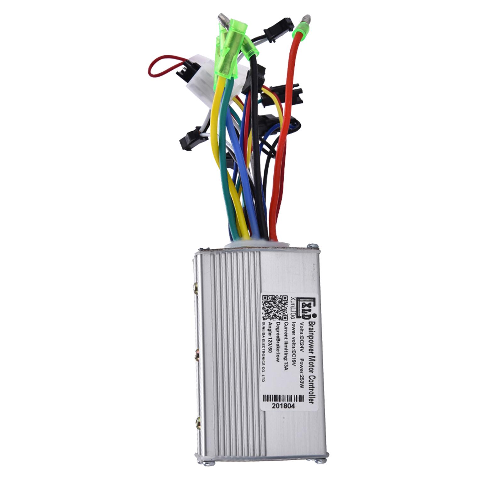 Brushless Motor Controller 24v 36v 48v 250w 350w For E Bike Electric Evo Wiring Diagram
