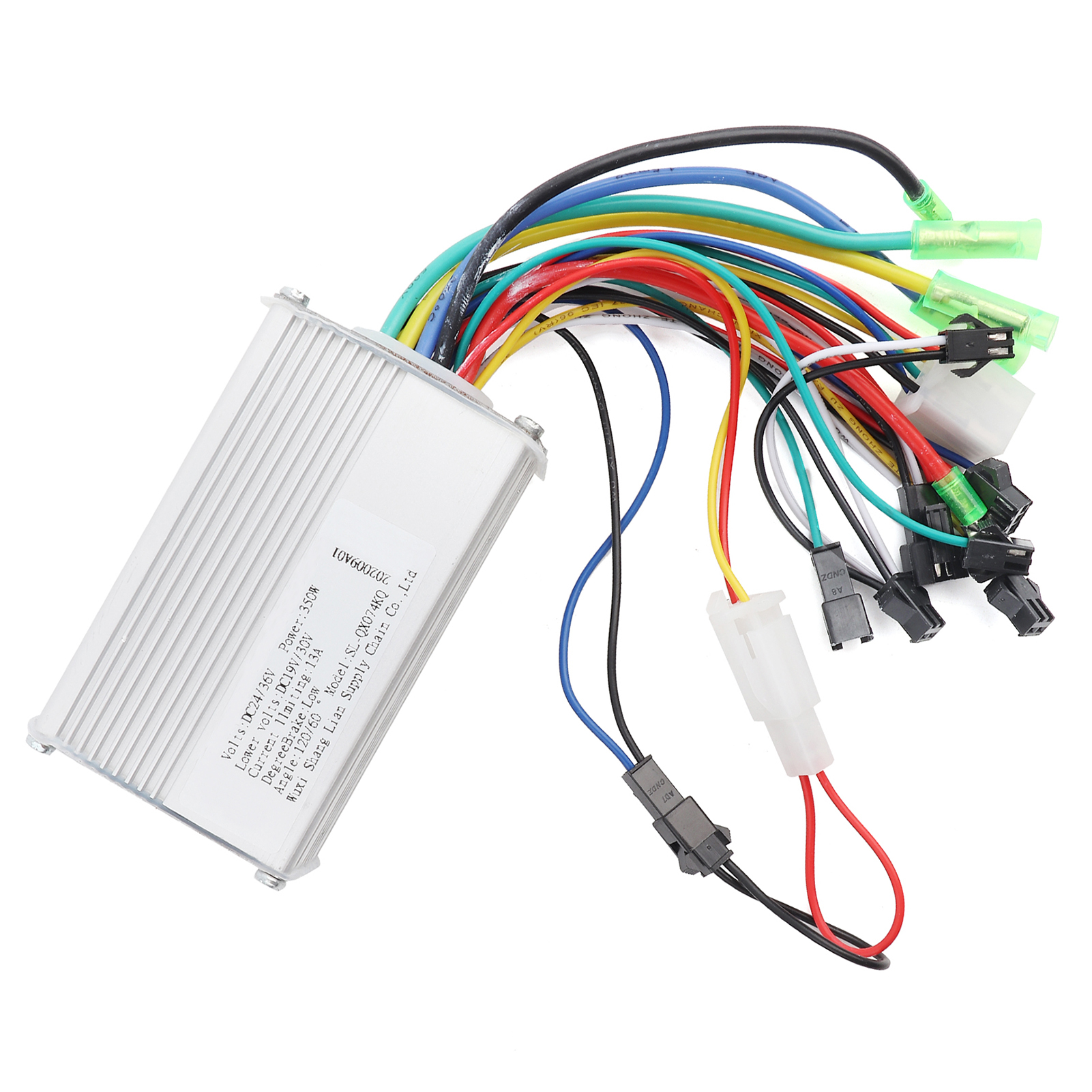 24v 350w Electric Bicycle E Bike Scooter Brushless Dc Motor Wiring