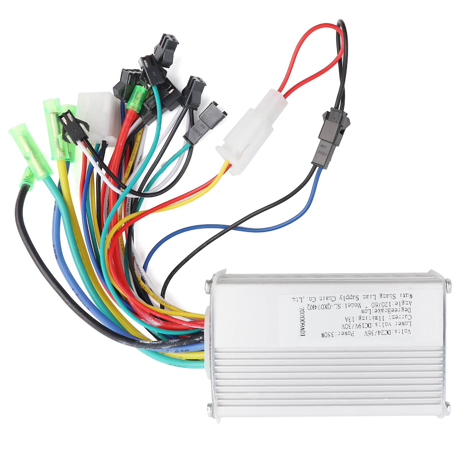 24v 350w Electric Bicycle E Bike Scooter Brushless Dc Motor Wiring Image Is Loading