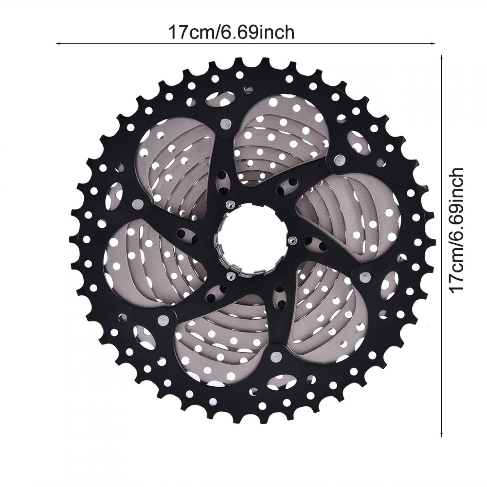 Mountain-Road-Bike-Cassette-8-9-10-Speed-Bicycle-Cassettes-Freewheel-For-SHIMANO thumbnail 14