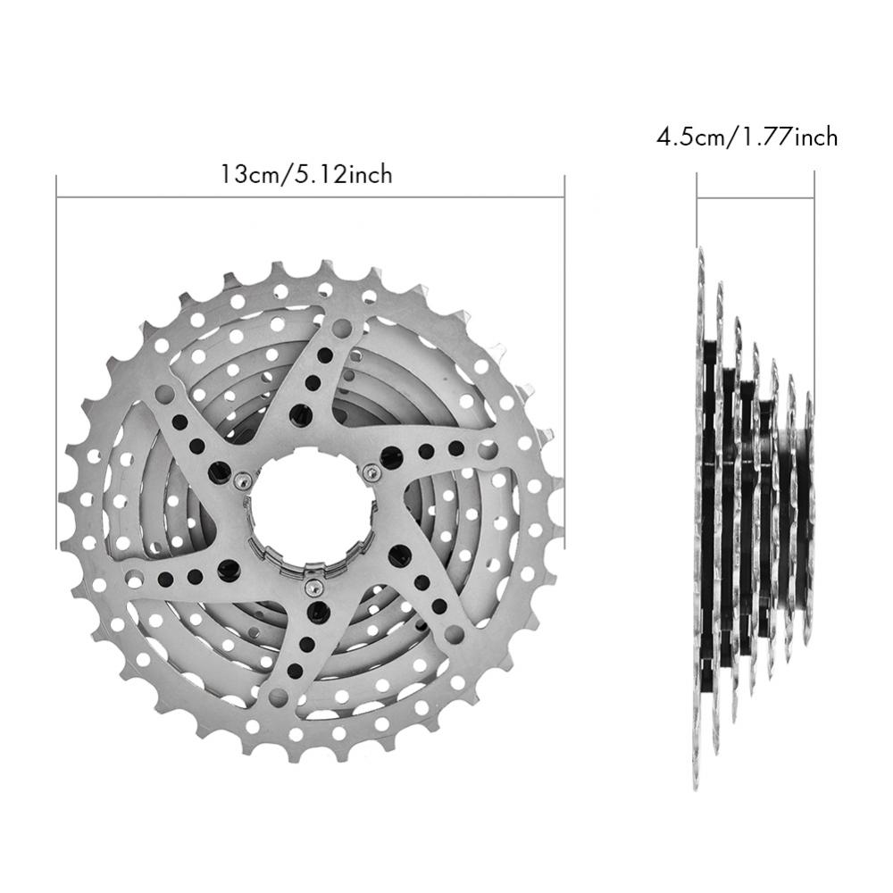 Mountain-Road-Bike-Cassette-8-9-10-Speed-Bicycle-Cassettes-Freewheel-For-SHIMANO thumbnail 17