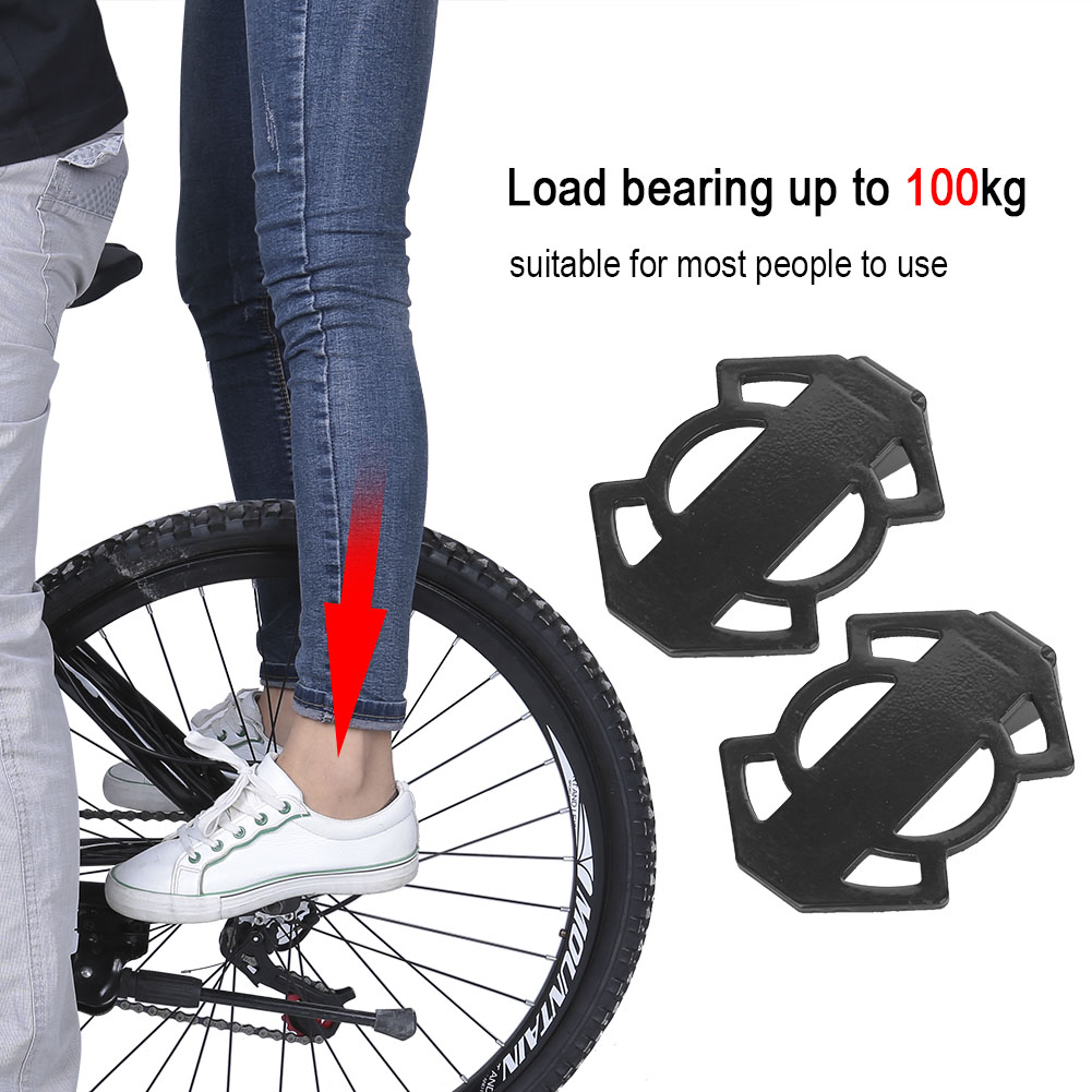 Bicycle-Rear-Foot-Bike-Pedal-Mountain-Road-Cycling-Metal-Back-Stand-Saddle-OB thumbnail 14