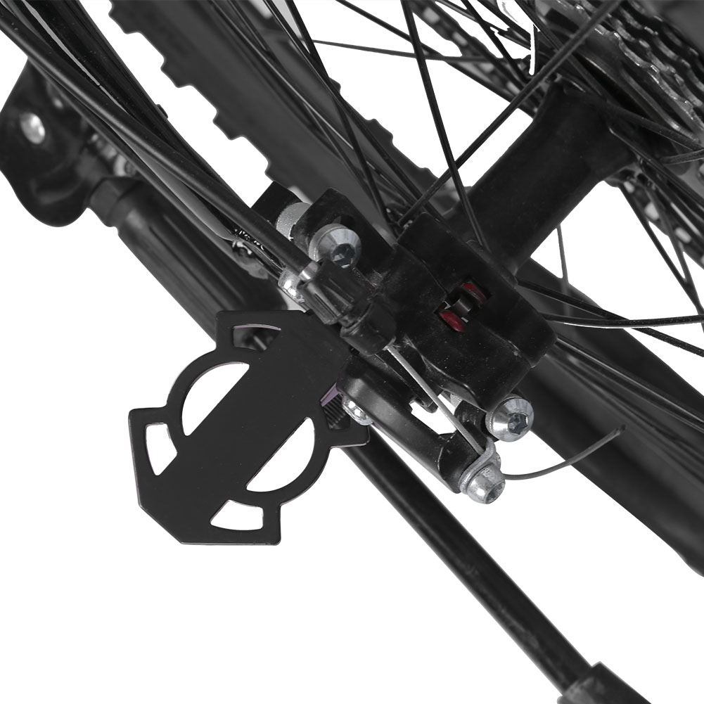 Bicycle-Rear-Foot-Bike-Pedal-Mountain-Road-Cycling-Metal-Back-Stand-Saddle-OB thumbnail 17