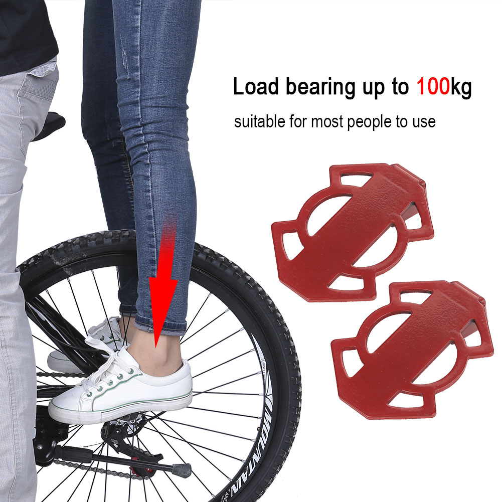 Bicycle-Rear-Foot-Bike-Pedal-Mountain-Road-Cycling-Metal-Back-Stand-Saddle-OB thumbnail 26