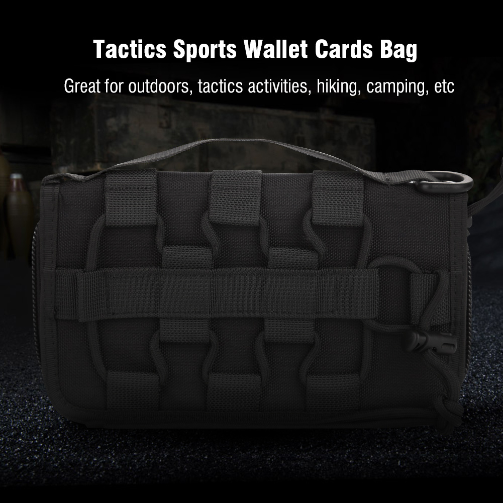 Tactics-Military-Outdoor-Nylon-Hand-Wallet-Credit-Card-Phone-Sports-Pouch-Bag-OB thumbnail 16