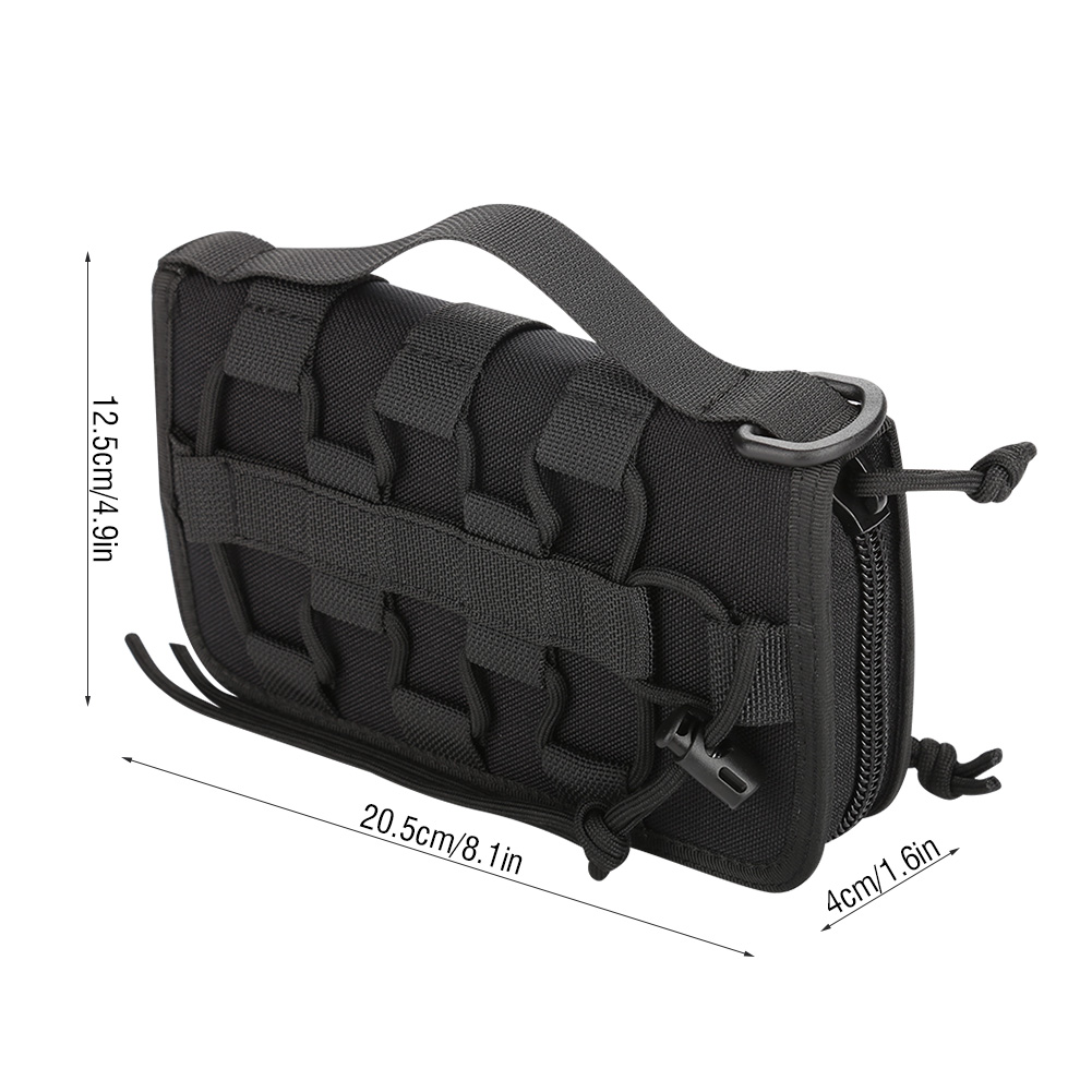 Tactics-Military-Outdoor-Nylon-Hand-Wallet-Credit-Card-Phone-Sports-Pouch-Bag-OB thumbnail 17