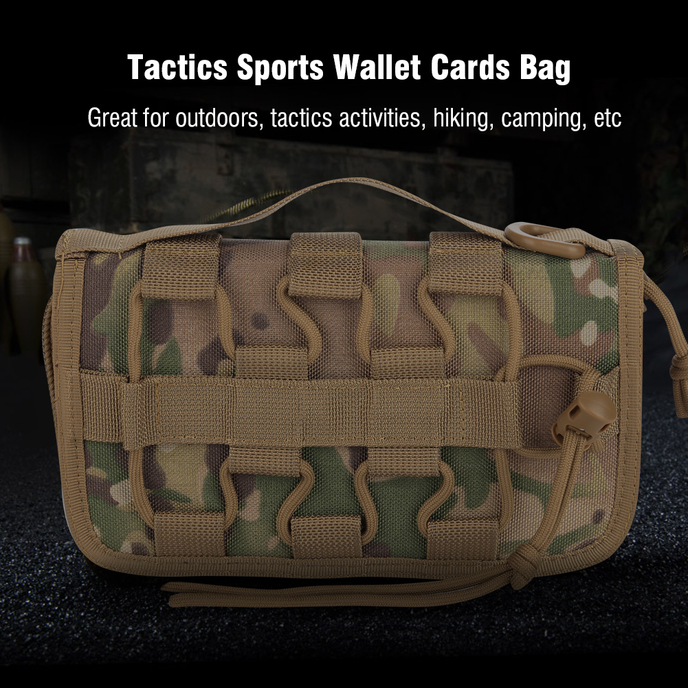 Tactics-Military-Outdoor-Nylon-Hand-Wallet-Credit-Card-Phone-Sports-Pouch-Bag-OB thumbnail 26