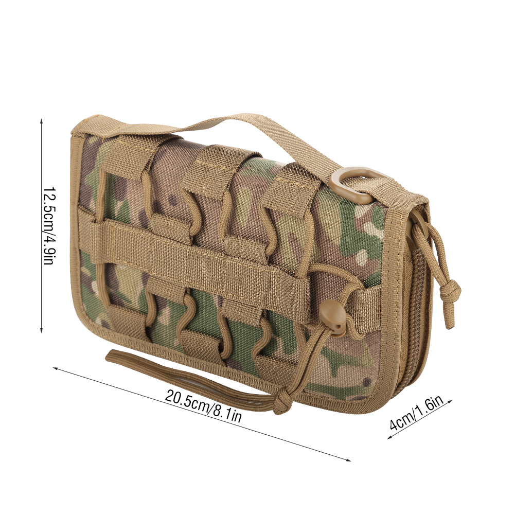 Tactics-Military-Outdoor-Nylon-Hand-Wallet-Credit-Card-Phone-Sports-Pouch-Bag-OB thumbnail 29