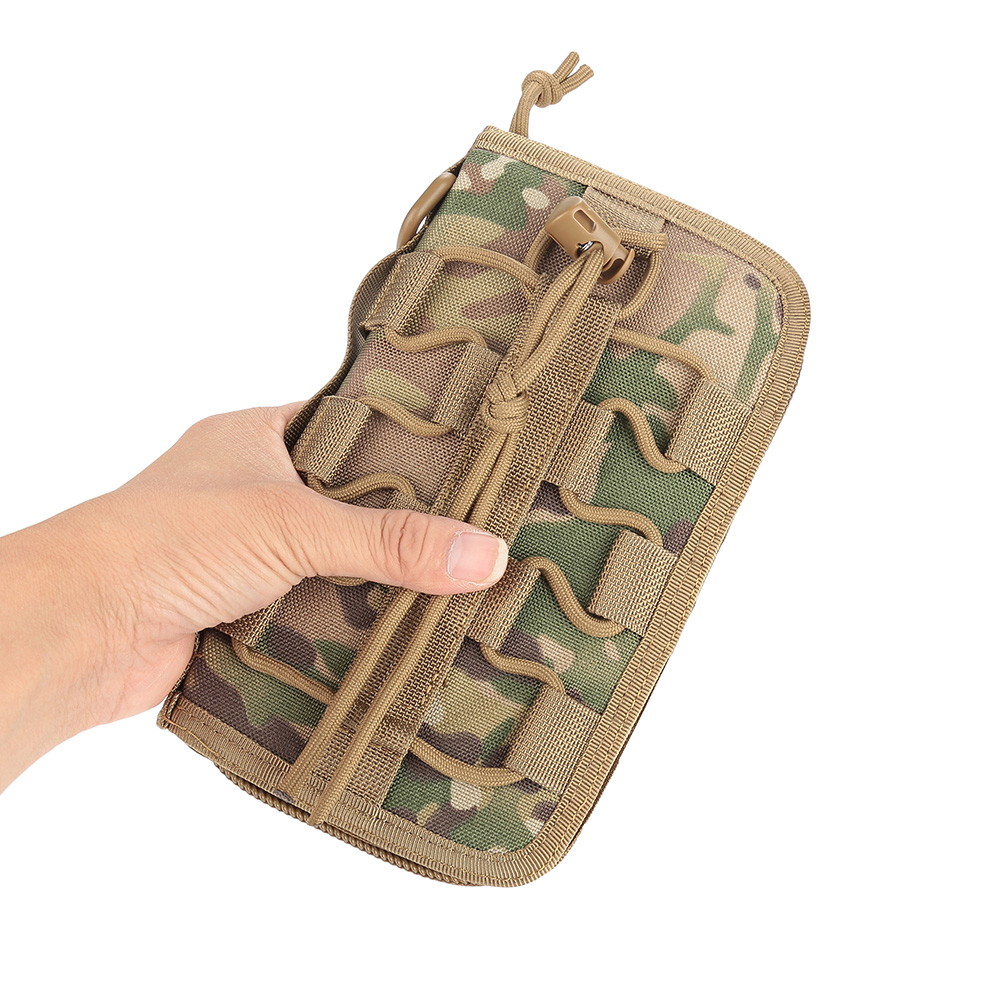 Tactics-Military-Outdoor-Nylon-Hand-Wallet-Credit-Card-Phone-Sports-Pouch-Bag-OB thumbnail 33