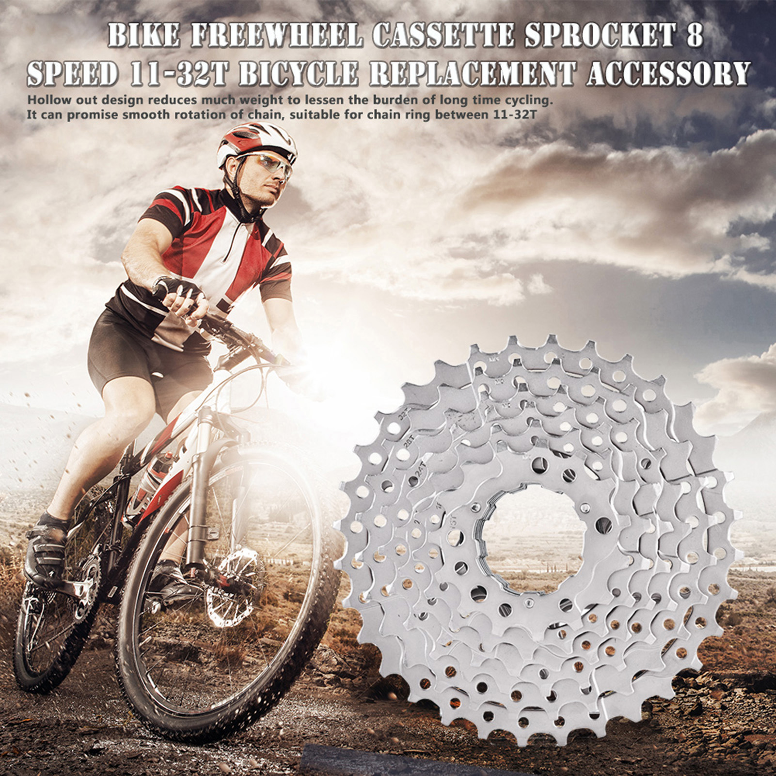 Mountain-Road-Bike-Cassette-8-9-10-Speed-Bicycle-Cassettes-Freewheel-For-SHIMANO thumbnail 20