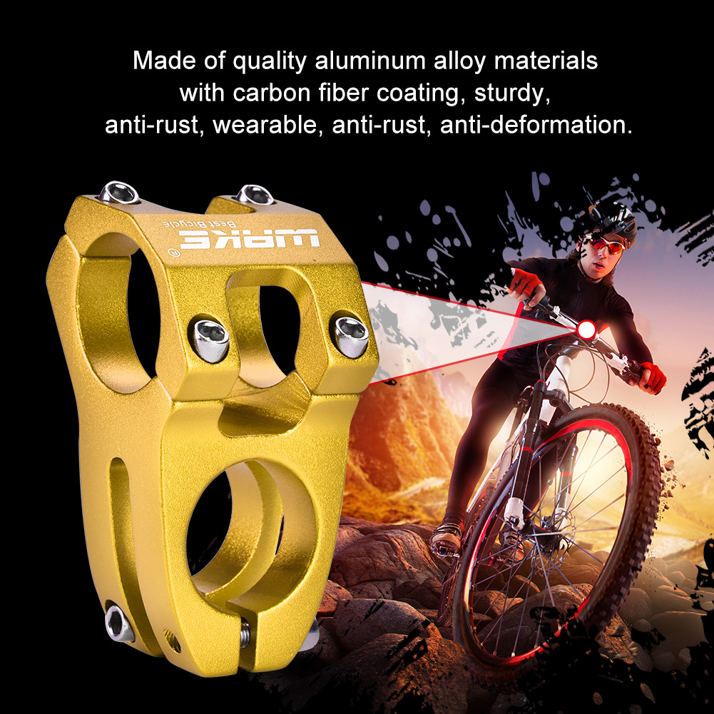 31-8mm-Mountain-BMX-Cycling-Bicycle-Mountain-Bike-Aluminium-Alloy-Handlebar-Stem thumbnail 12