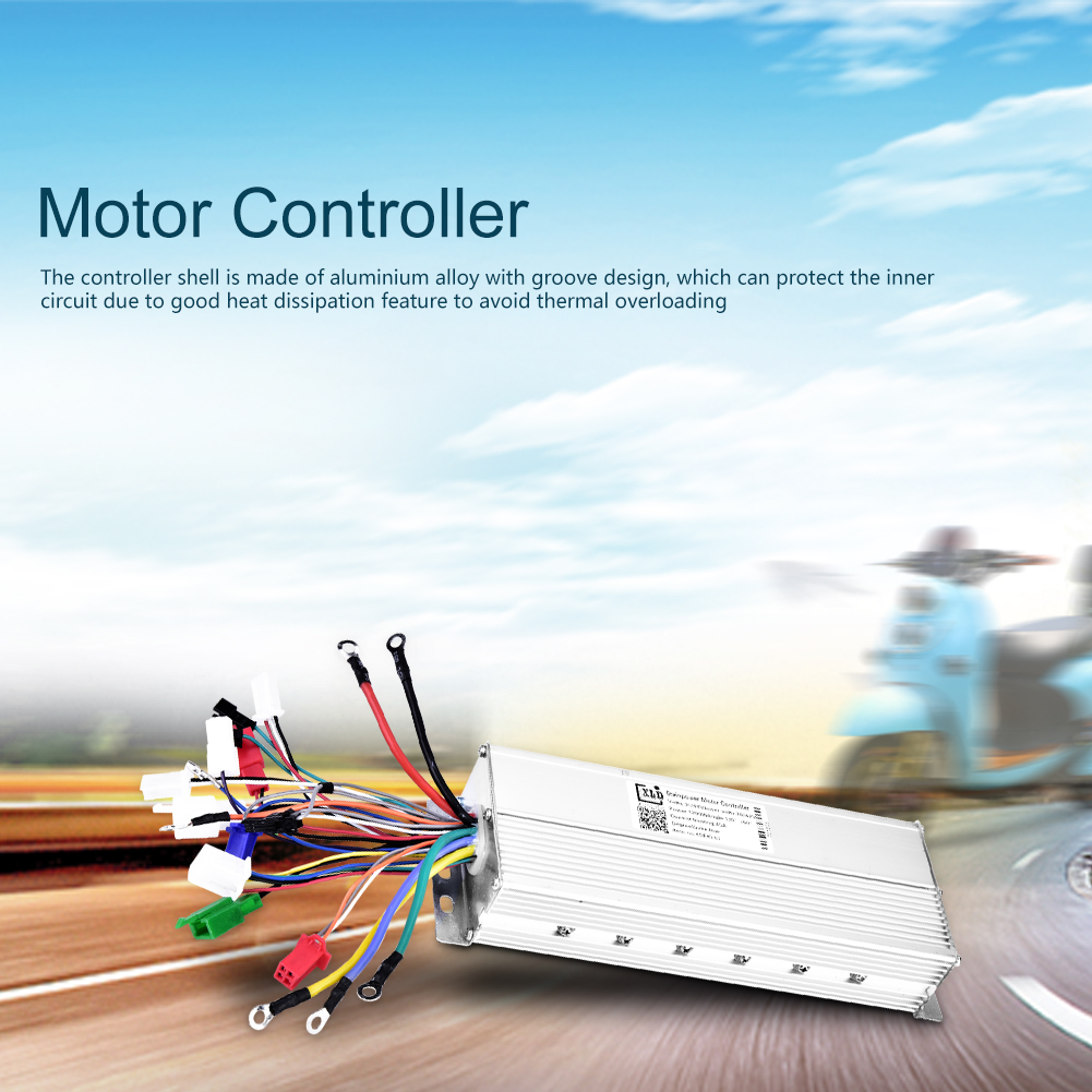48-60V-1500W-Electric-Bicycle-E-bike-Scooter-Brushless-DC-Motor-Speed-Controller thumbnail 12