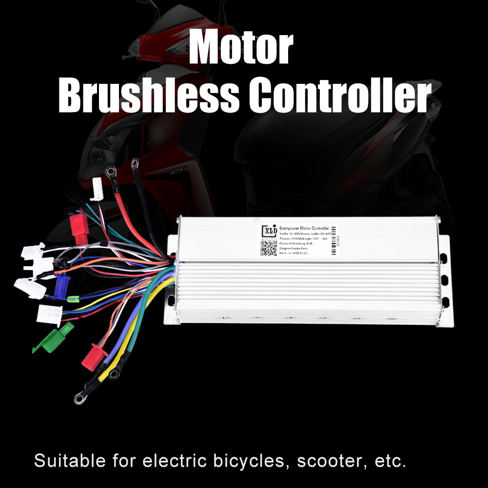 48-60V-1500W-Electric-Bicycle-E-bike-Scooter-Brushless-DC-Motor-Speed-Controller thumbnail 13