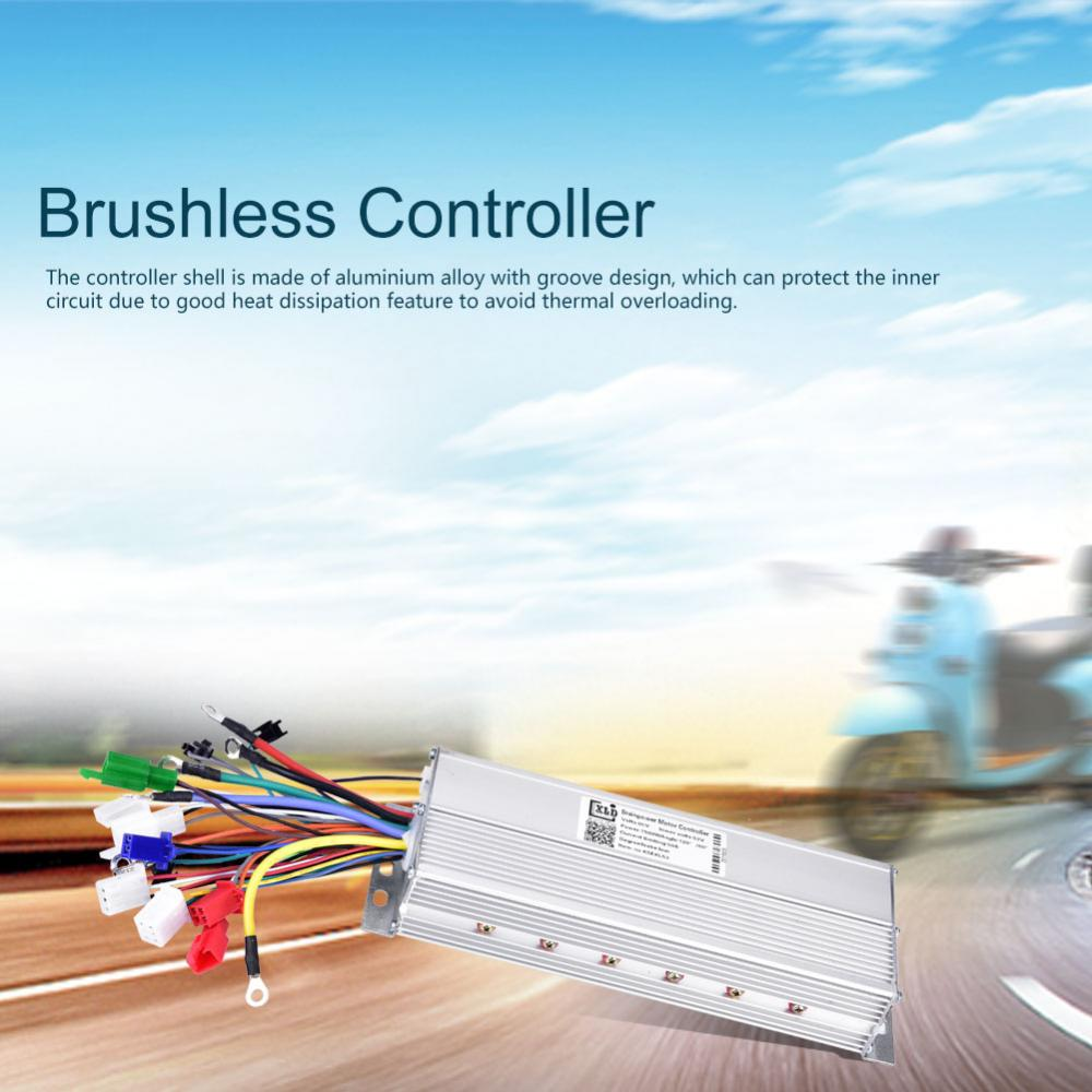 24-72V 250W-1500W Electric Brushless Motor Controller for E-bike Bike  Scooter