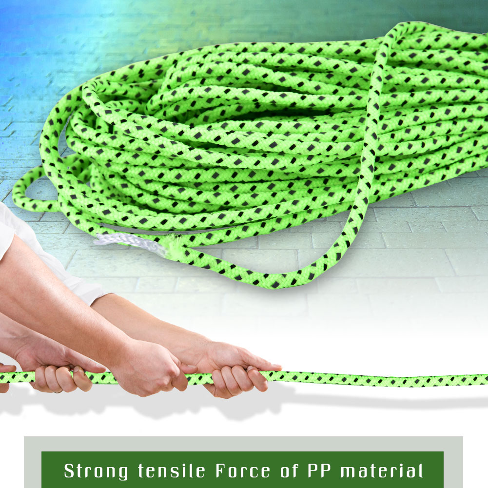 2-5MM-Camping-Tent-Awning-Reflective-Guyline-Rope-Cord-Paracord-Strap-Green-SP thumbnail 17