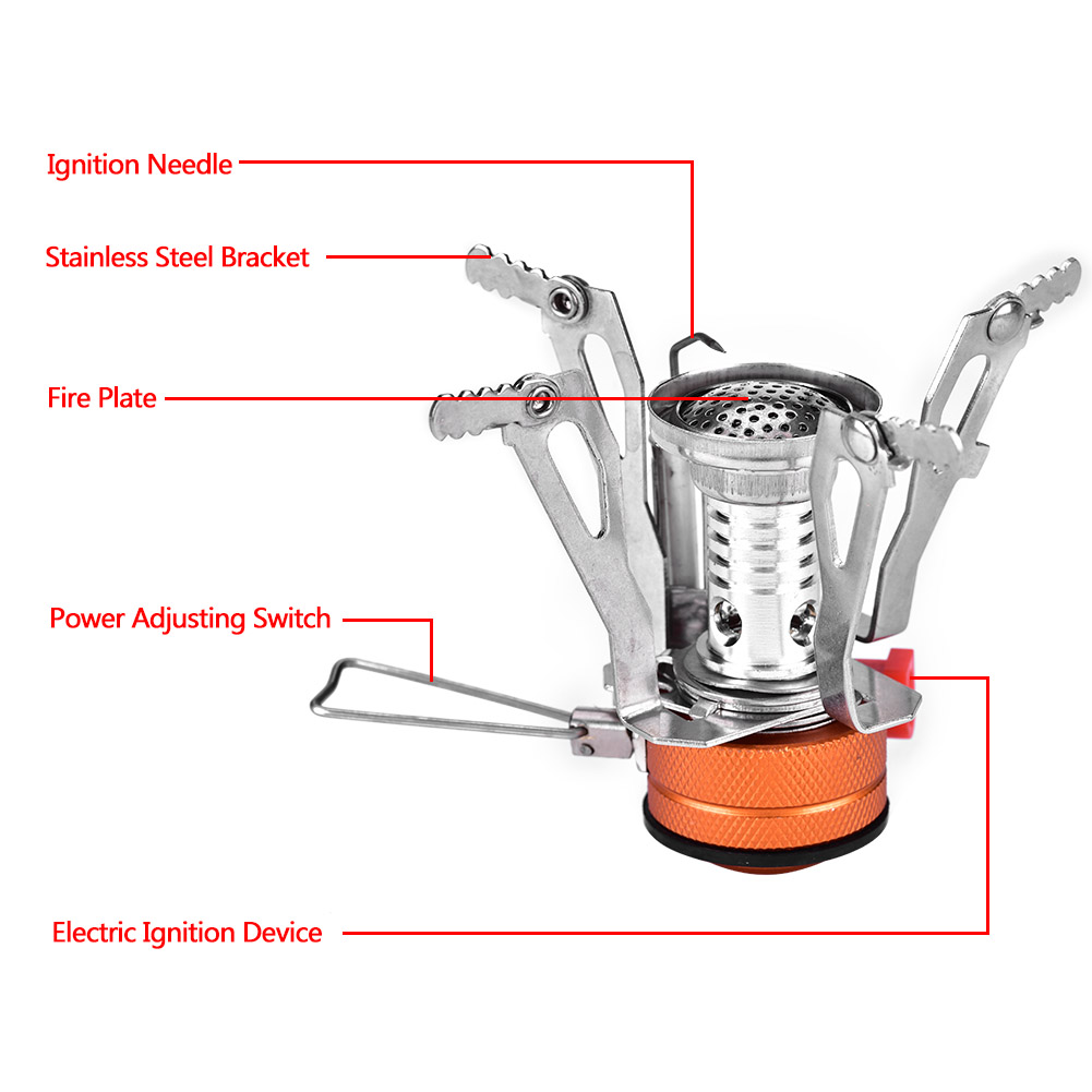 Foldable Portable Mini Outdoor Picnic Steel Stove Camping