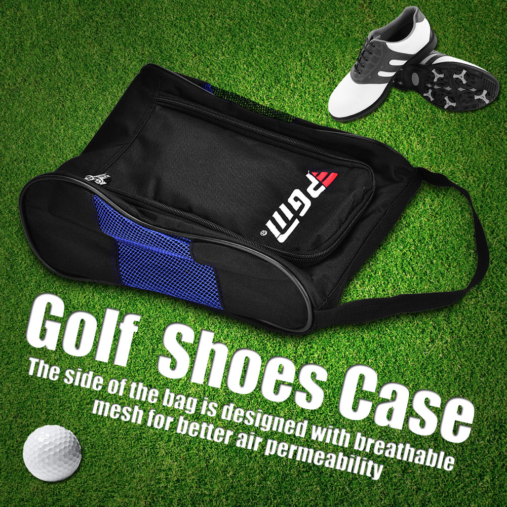 fb686f7aed22 Shoe Tote Bag Case Pouch Organizer For Golf Soccer Football Gym ...