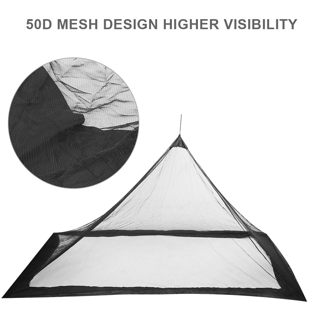 Camping-Hammock-Anti-Mosquito-Insect-Net-Tent-Mesh-Single-Sleeping-Canopy-Bed-DY thumbnail 17