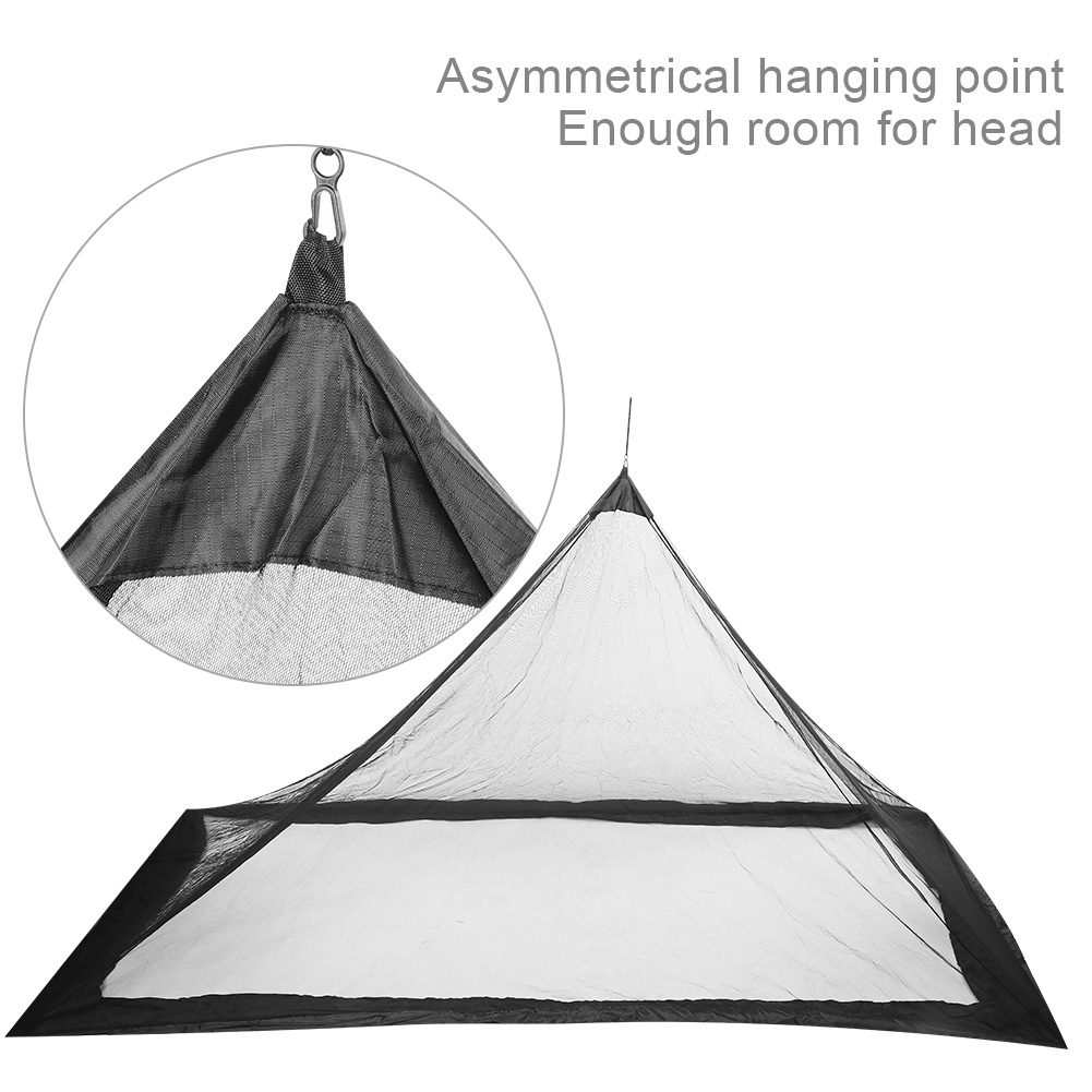 Camping-Hammock-Anti-Mosquito-Insect-Net-Tent-Mesh-Single-Sleeping-Canopy-Bed-DY thumbnail 18