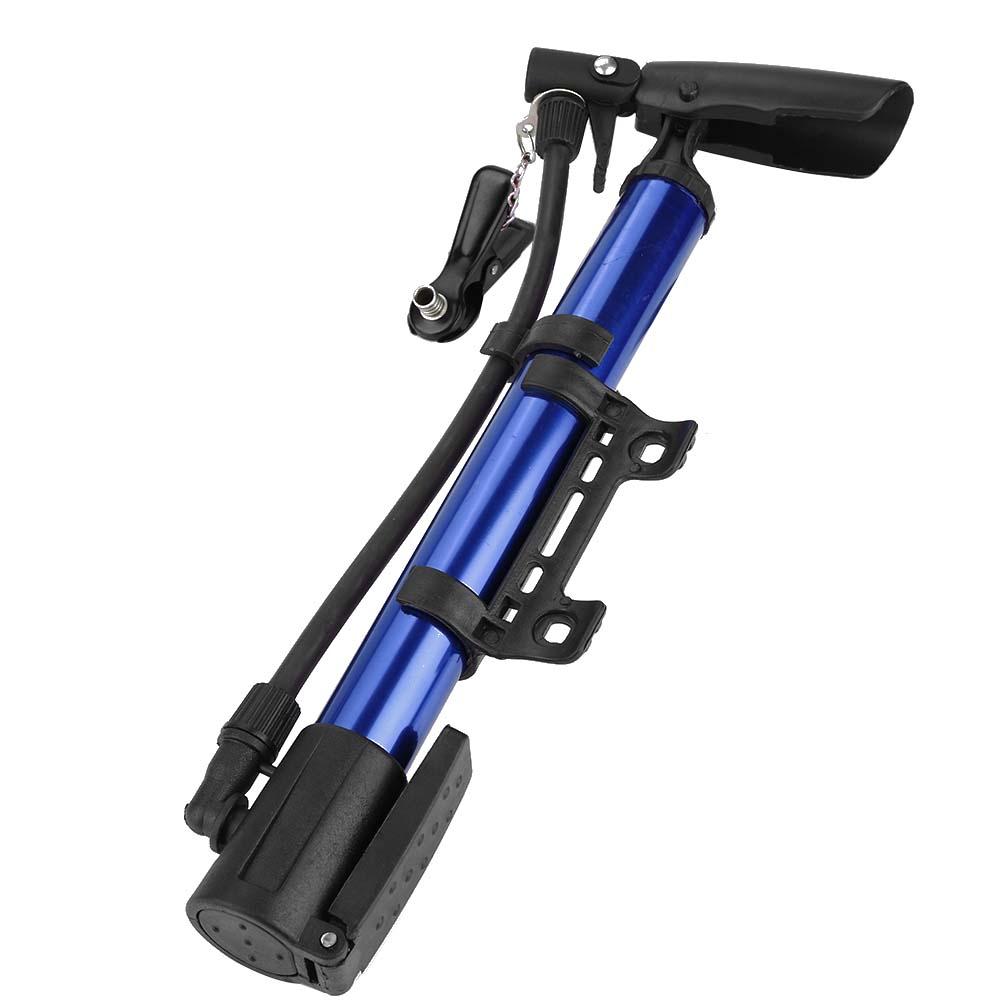 MINI BICYCLE AIR PUMP Bike Hand Ball Inflator Portable Cycling Tyre Aluminium