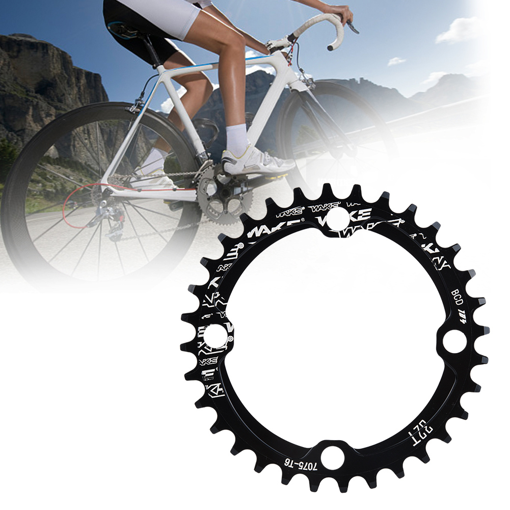 MTB-Bike-Narrow-Wide-Round-Oval-Chainring-Ring-104-130mm-22-32-34-36-38-44-53T thumbnail 13