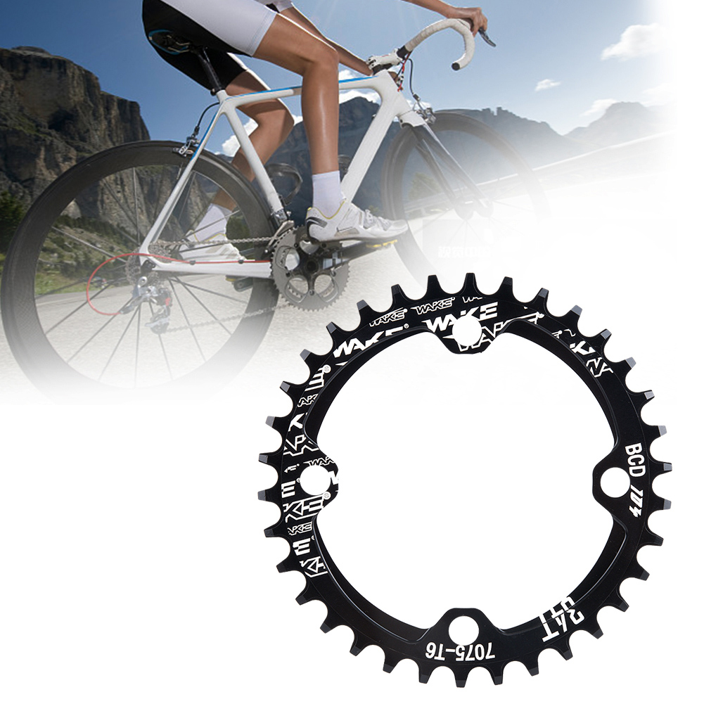 MTB-Bike-Narrow-Wide-Round-Oval-Chainring-Ring-104-130mm-22-32-34-36-38-44-53T thumbnail 16