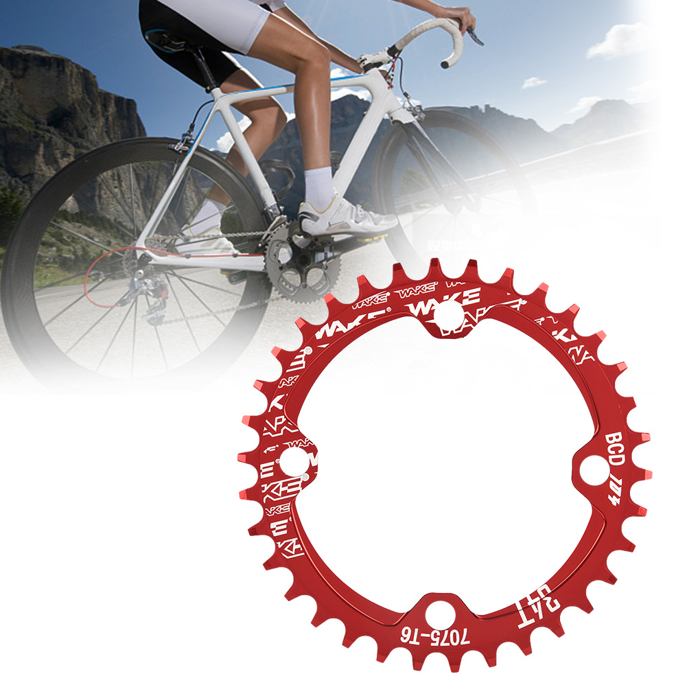 MTB-Bike-Narrow-Wide-Round-Oval-Chainring-Ring-104-130mm-22-32-34-36-38-44-53T thumbnail 28