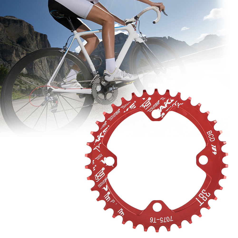 MTB-Bike-Narrow-Wide-Round-Oval-Chainring-Ring-104-130mm-22-32-34-36-38-44-53T thumbnail 34