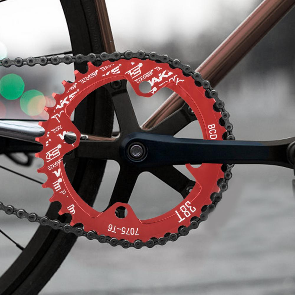 MTB-Bike-Narrow-Wide-Round-Oval-Chainring-Ring-104-130mm-22-32-34-36-38-44-53T thumbnail 35