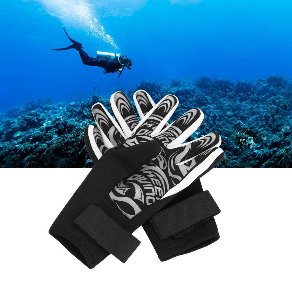 Swiming-Diving-Surfing-Snorkeling-Kayaking-Gloves-2MM-Neoprene-Equipment thumbnail 15