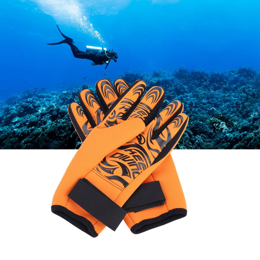 Swiming-Diving-Surfing-Snorkeling-Kayaking-Gloves-2MM-Neoprene-Equipment thumbnail 20
