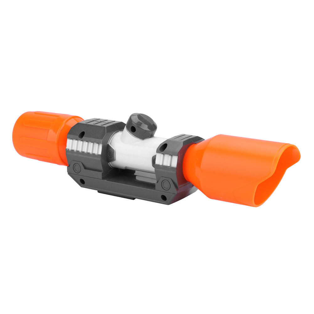 Plastic-Tactical-Distance-Scope-Sight-Silencer-for-Nerf-Blaster-MOD-Modify-Toy thumbnail 18