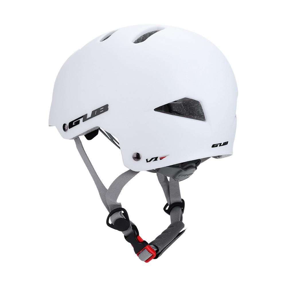 GUB-portatil-Matt-BMX-Skate-Casco-Bicicleta-Bicicleta-Ciclo-Scooter-Bombardero-De-Seguridad-nuevo