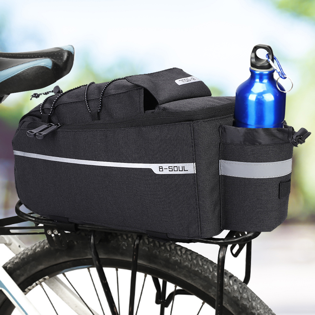 Bicycle Cycling Bike Water Kettle Bottle Saddle Tail Rear Seat Bag Pannier Pouch