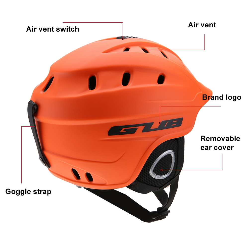 GUB-Unisex-Adults-Snow-Ski-Snowboard-Protection-Helmet-Anti-Froging-Goggles thumbnail 21