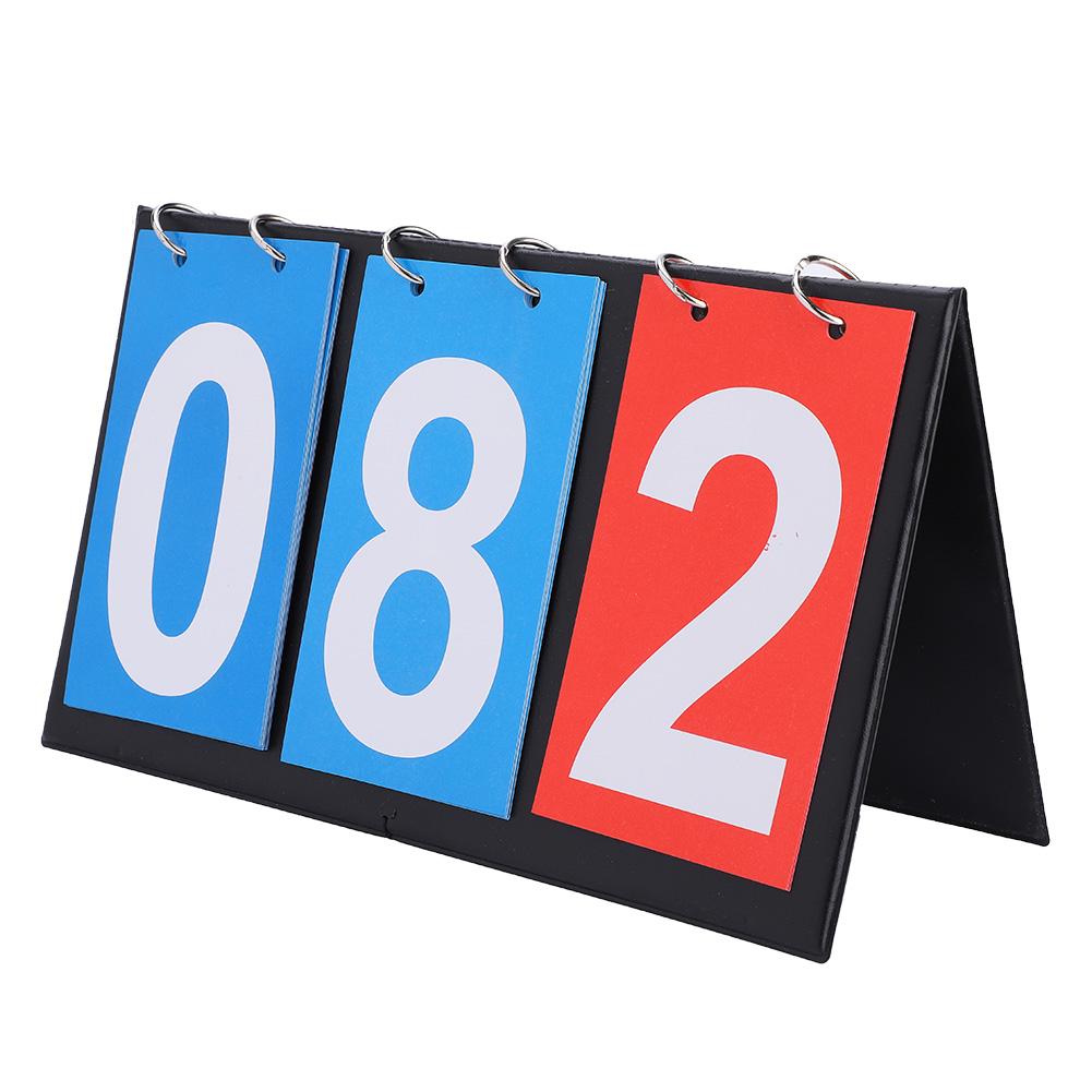 Portable-Flip-Sports-Scoreboard-Score-Counter-for-Table-Tennis-Basketball thumbnail 23