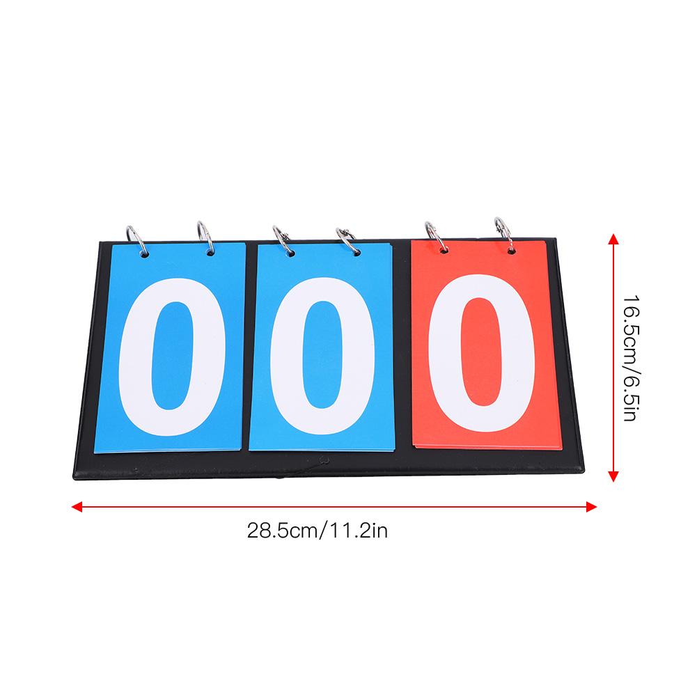 Portable-Flip-Sports-Scoreboard-Score-Counter-for-Table-Tennis-Basketball thumbnail 27