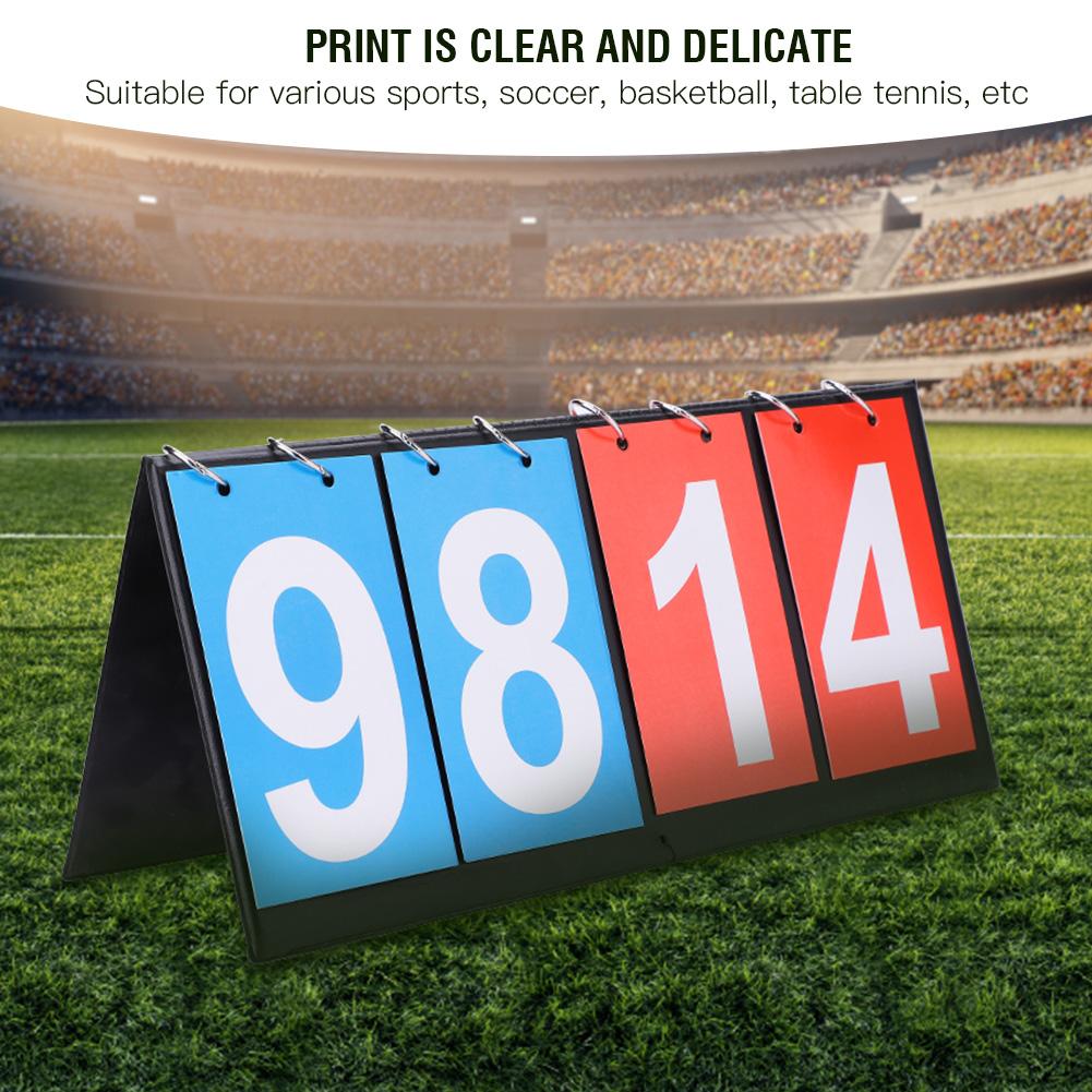 Portable-Flip-Sports-Scoreboard-Score-Counter-for-Table-Tennis-Basketball thumbnail 34