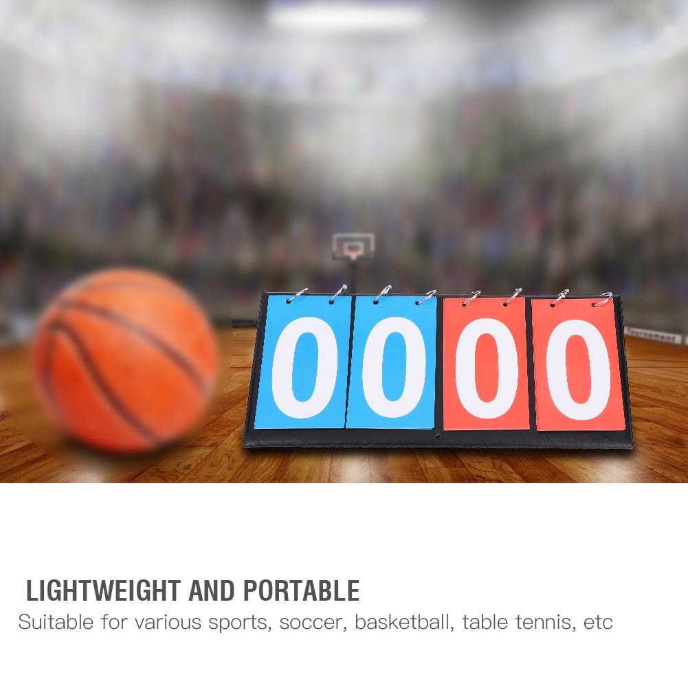 Portable-Flip-Sports-Scoreboard-Score-Counter-for-Table-Tennis-Basketball thumbnail 35